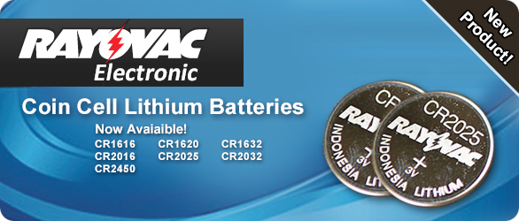 Rayovac Coin Cell Lithium Batteries