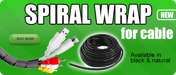 Spiral Wrap for Cables