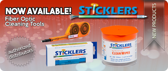 Sticklers® Fiber Optic Cleaning Tools